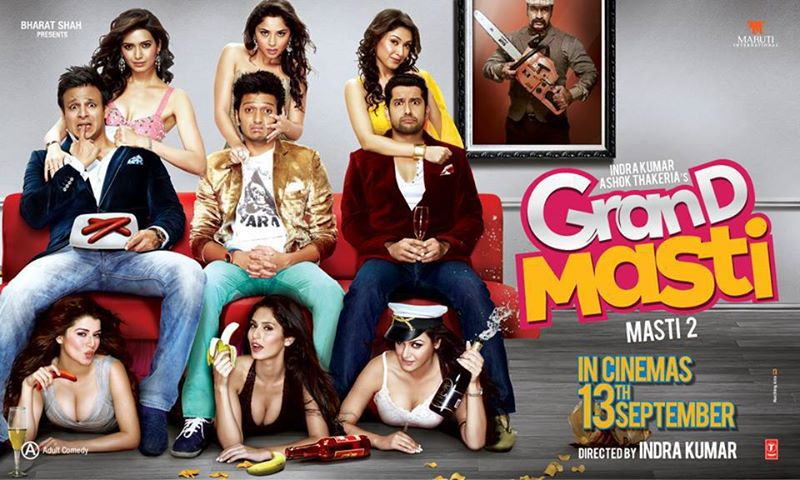 Grand Masti (2013) – [සතුට සොයා…] Trailer with Sinhala Sub….