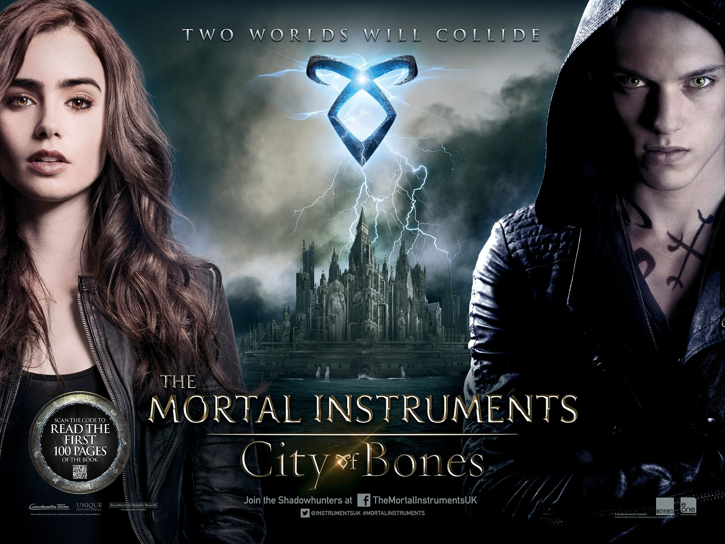 The Mortal Instruments: City of Bones (2013)- [ඇටකටු පුරවරය..]Trailer with Sinhala Sub…