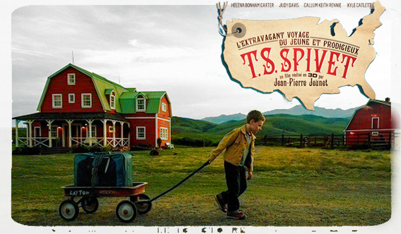 The Young and Prodigious T.S. Spivet (2013) – [පුංචි හපනා….]