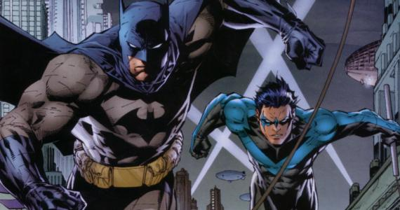 Batman with Nightwing