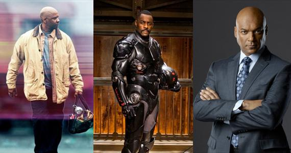 Denzel Washington, Idris Elba and Colin Salmon as Lex Luthor
