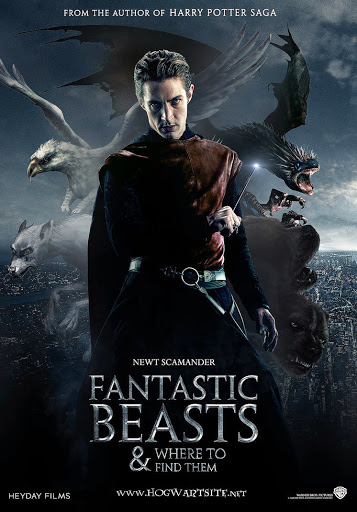 HP Fantastic Beasts Mock Poster