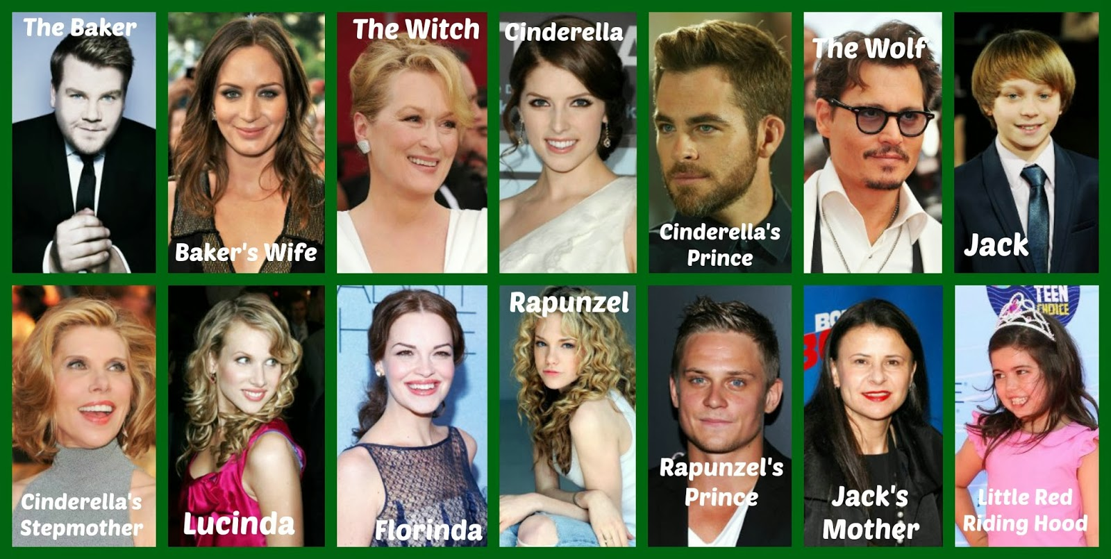 Into The Woods 2014 Cast1