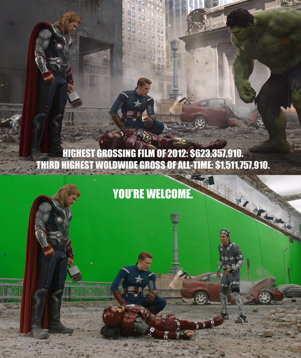 VFX Protest - The Avengers