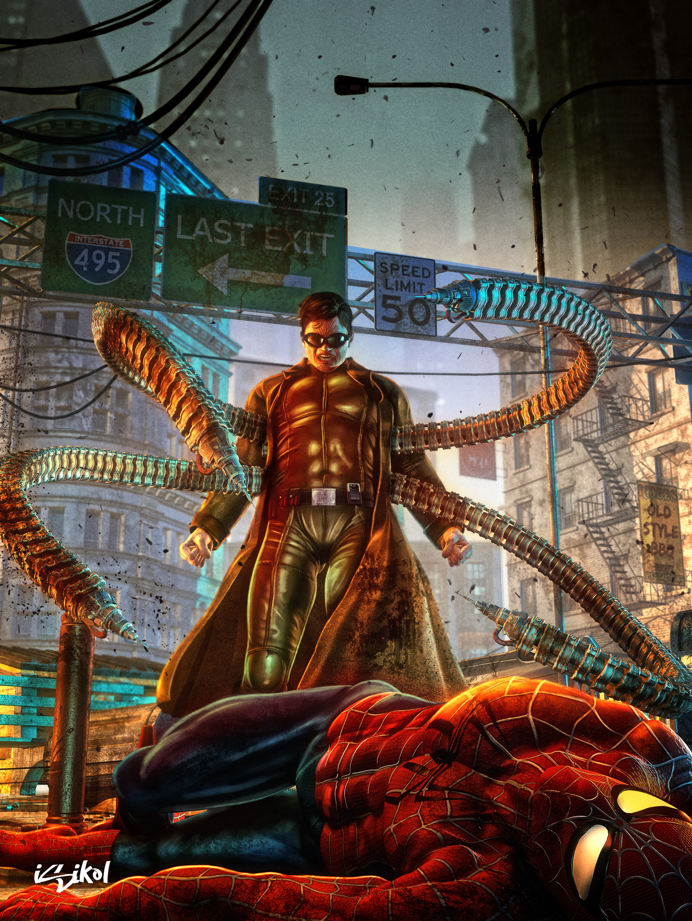 doctor_octopus_by_isikol-d3ivqdh