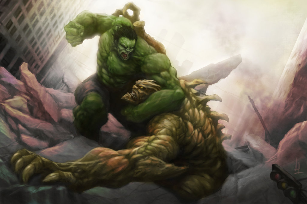 hulk_vs_abomination_by_alo4477-d5xwvtd