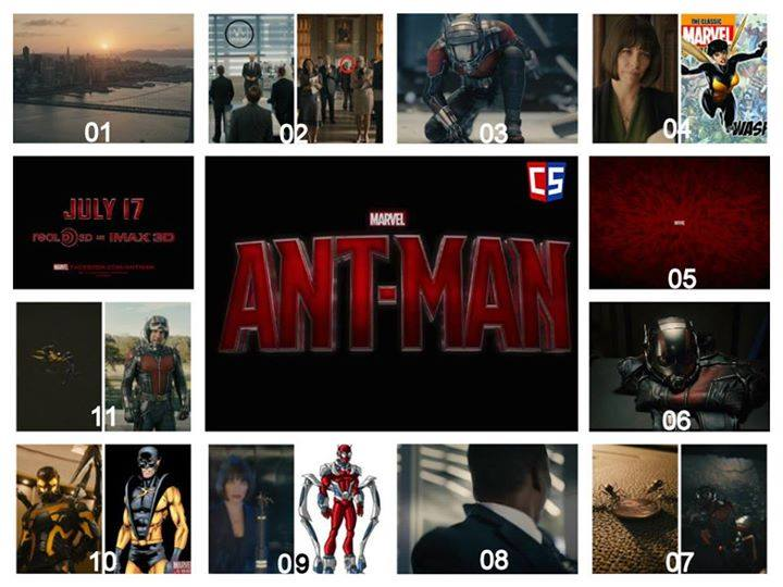 Ant man Trailer 02 – Break Down