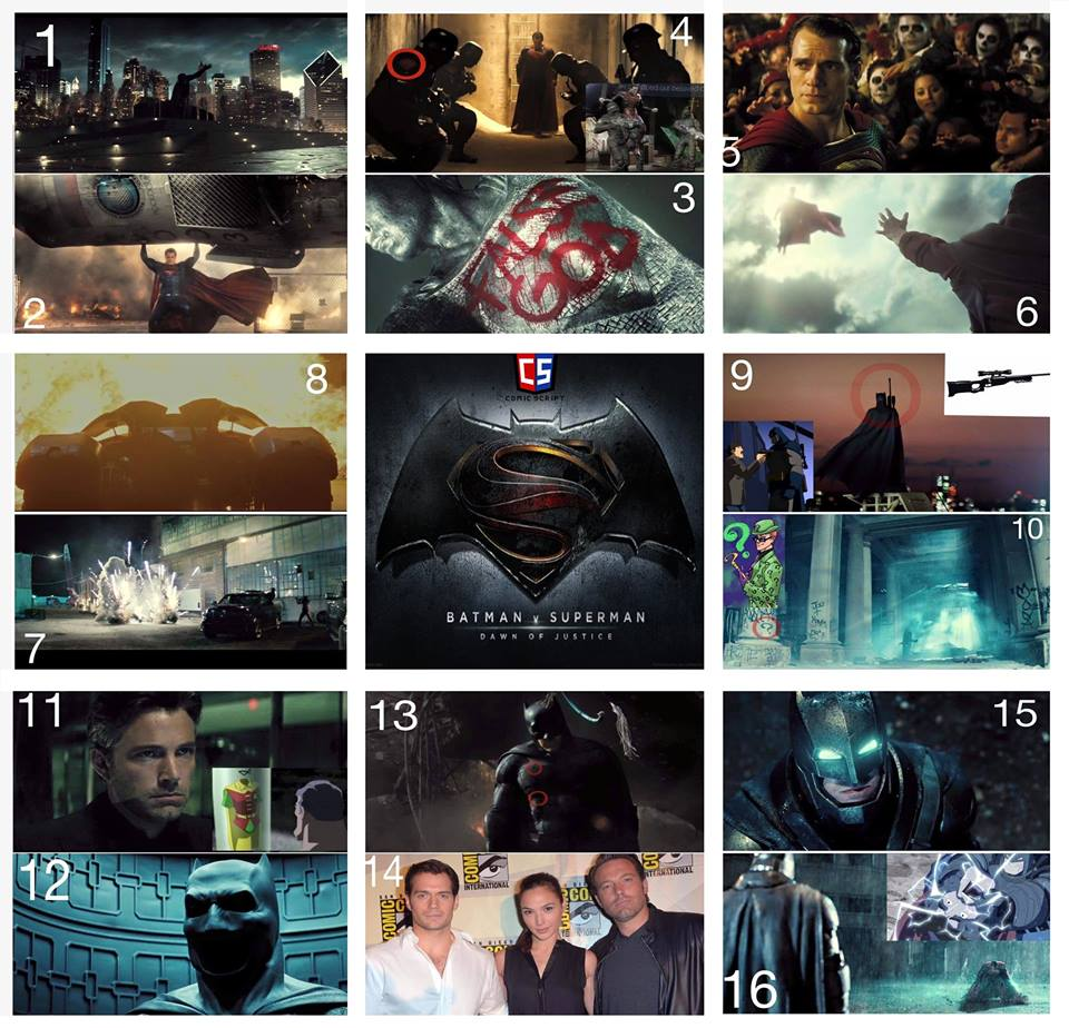 Batman V Superman Official Trailer Breakdown #1