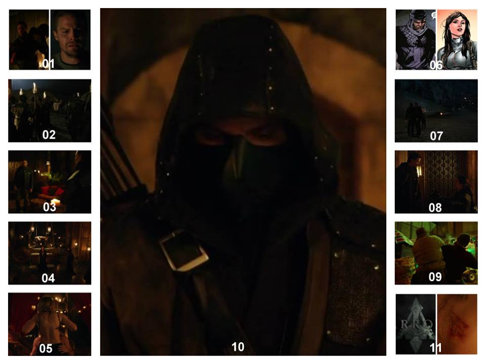 Arrow S03E20 – The Fallen ** Spoilers**