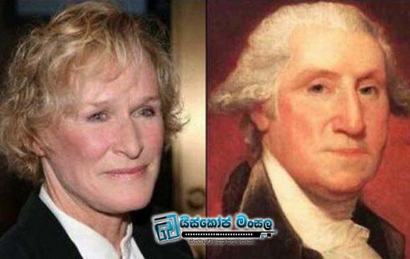 Glenn-Close-and-George-Washington