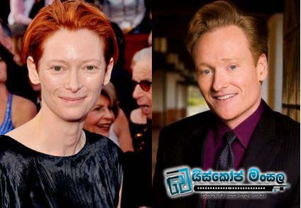 Tilda-Swinton-and-Conan-OBrien
