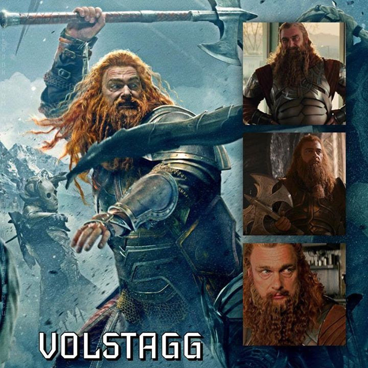 Marvel Cinematic Universe – Characters [Asgard] – 06 | Volstagg